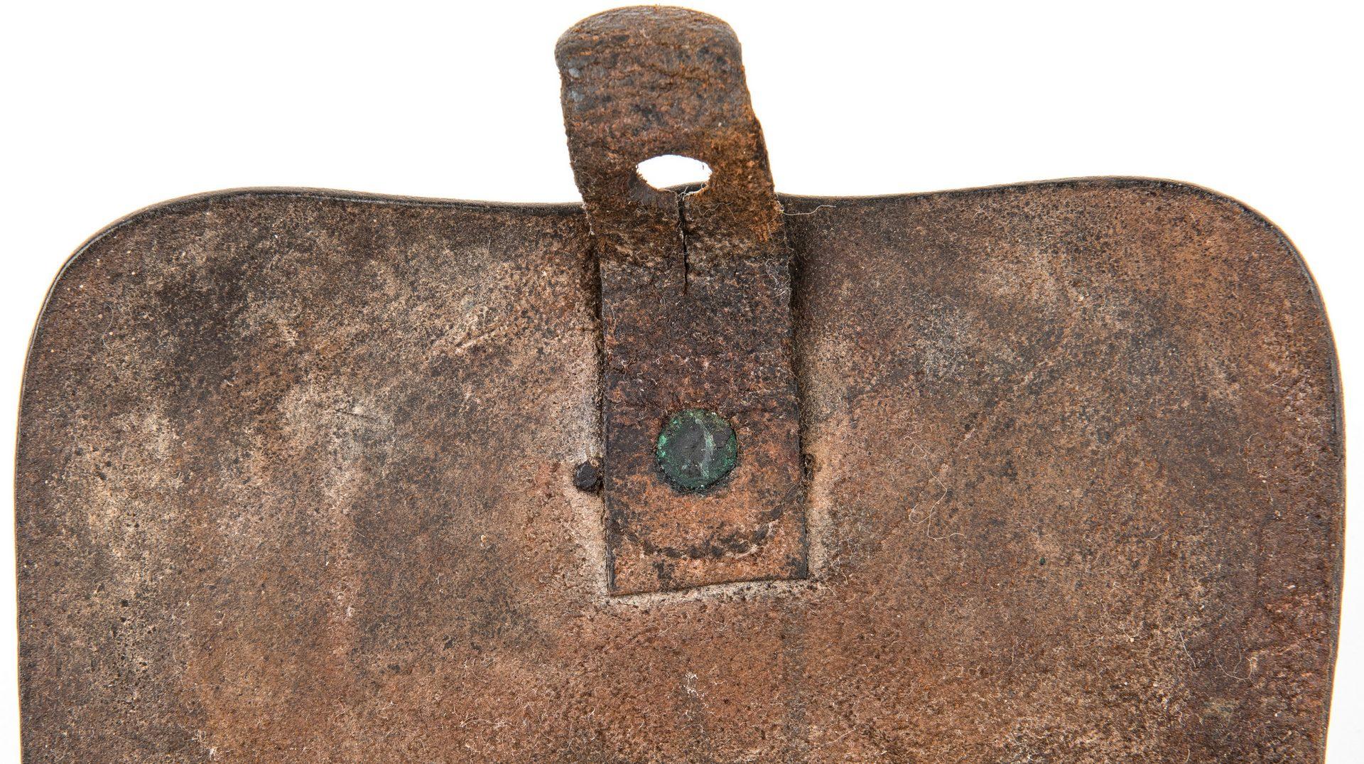 Lot 285: Confederate Arsenal Pistol Cartridge Box