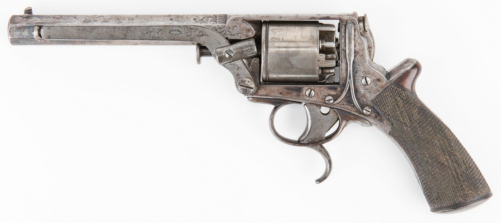 Lot 298: Hyde & Goodrich New Orleans Agent Marked Tranter Revolver, SN 8803