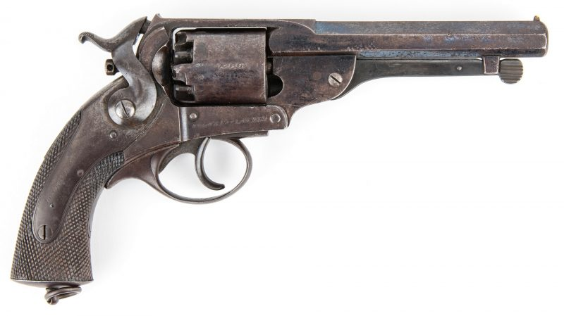 Lot 299: Confederate Blockade Run Kerr Revolver, SN 1269