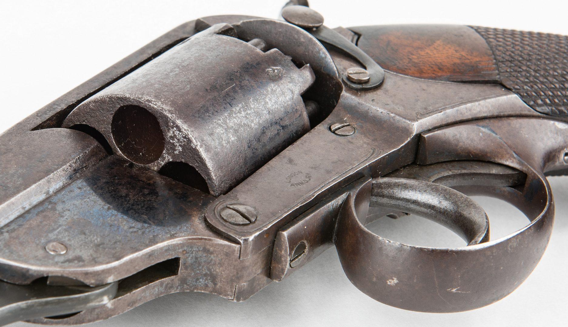 Lot 299: Confederate Blockade Run Kerr Revolver, SN 1269