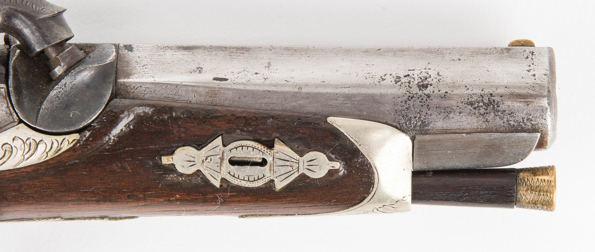 Lot 305: Agent Marked TN Lullman and Vienna Memphis Pocket Pistol, .50 cal.