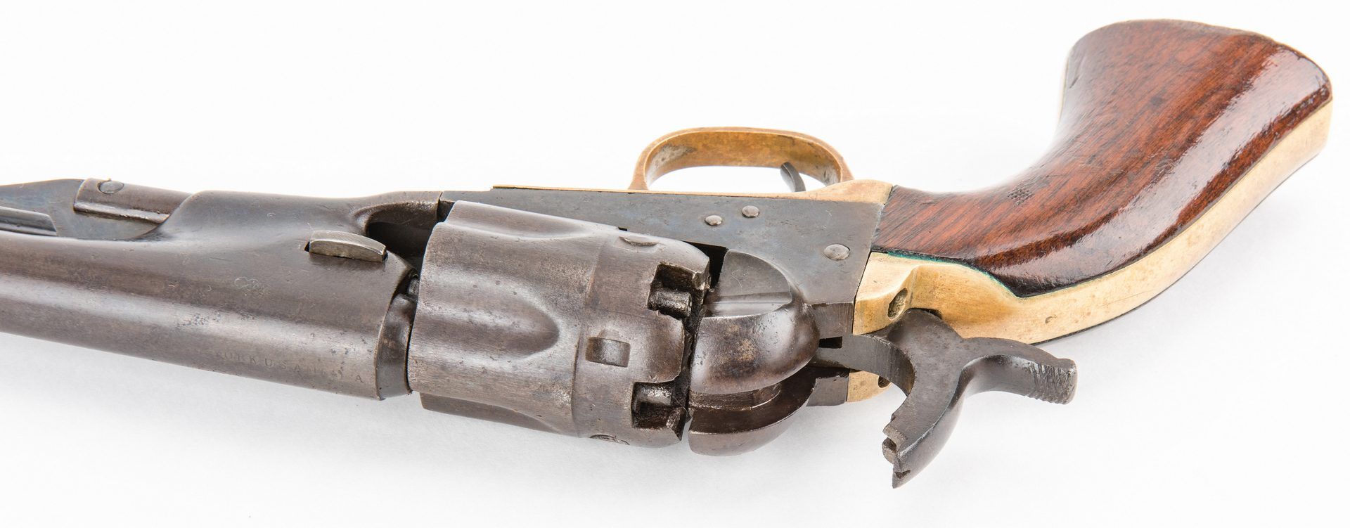Lot 310: Civil War Colt Model 1862 Police Revolver, Holster