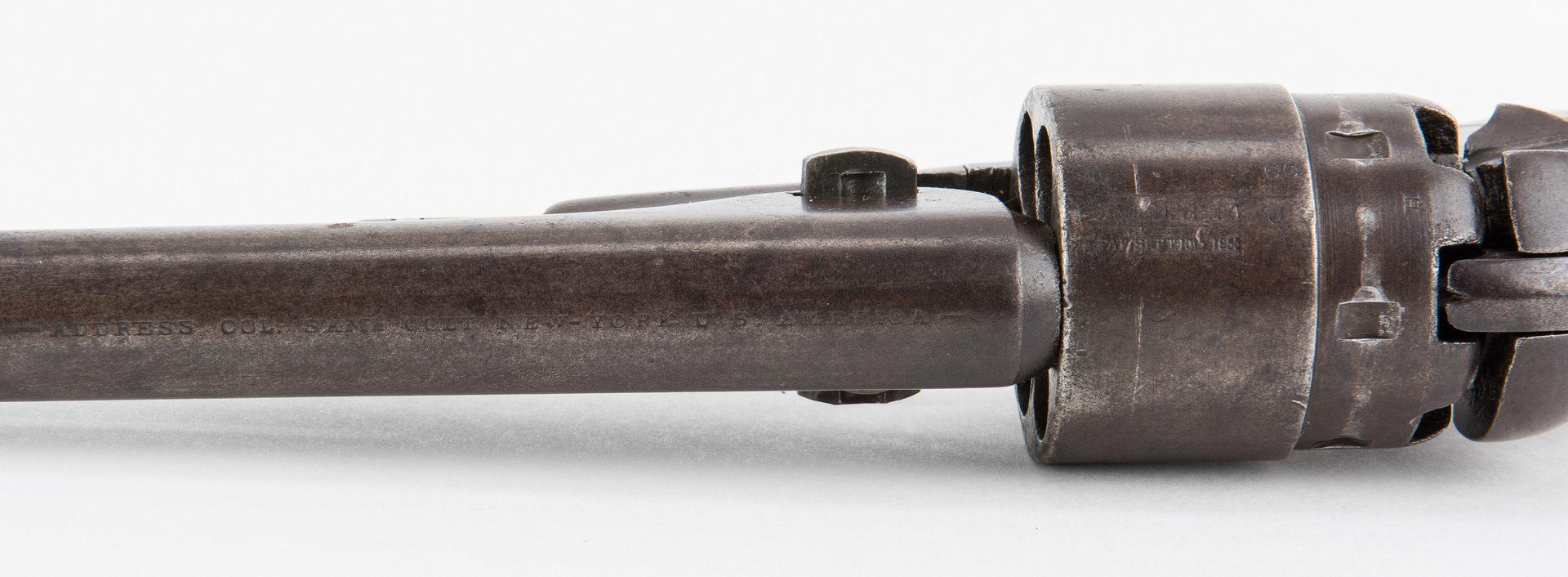 Lot 311: Civil War Era Colt Model 1860 Army Revolver, .44 Caliber