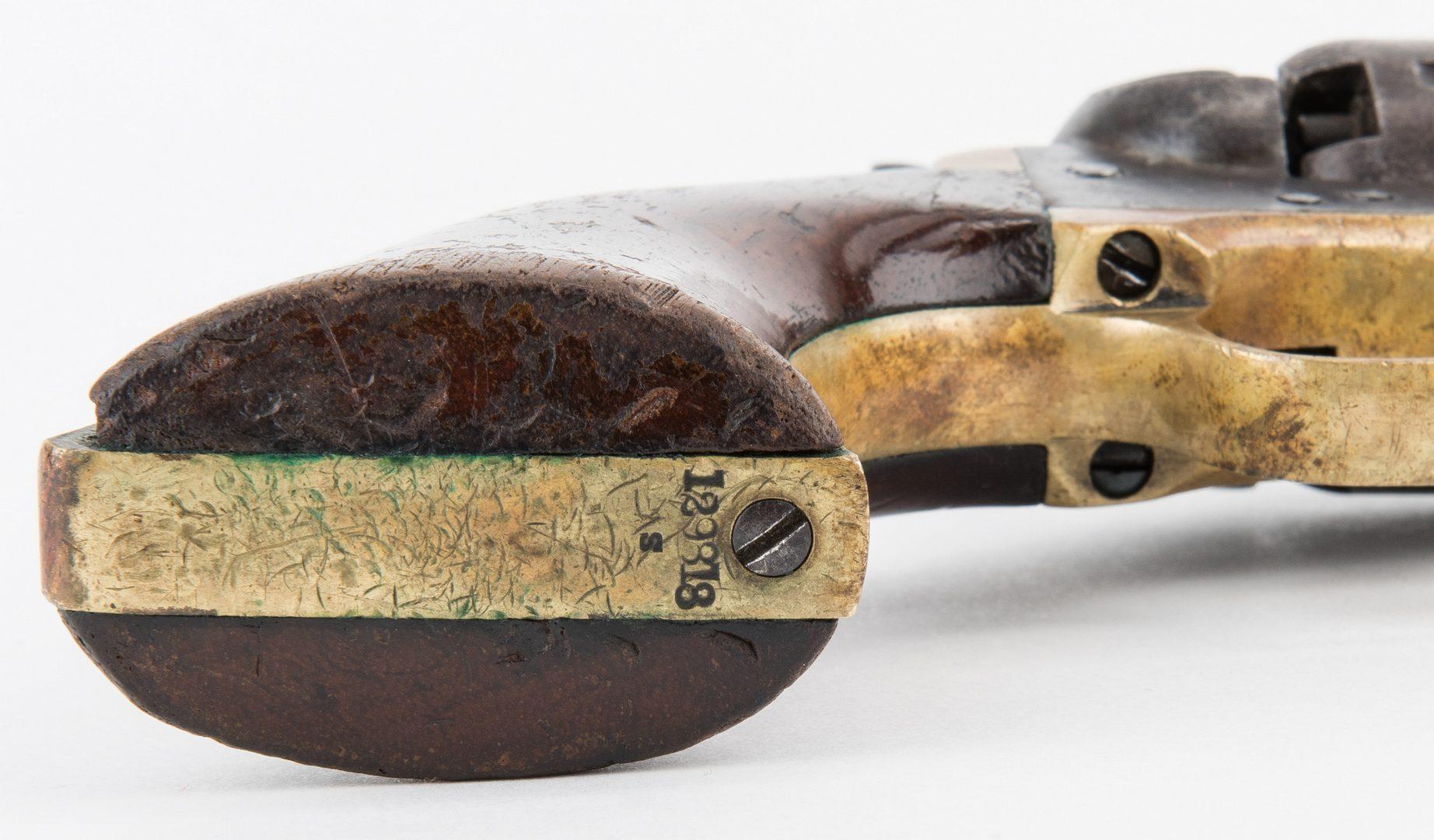 Lot 312: Civil War Era Colt Model 1851 Navy revolver, .36 Caliber