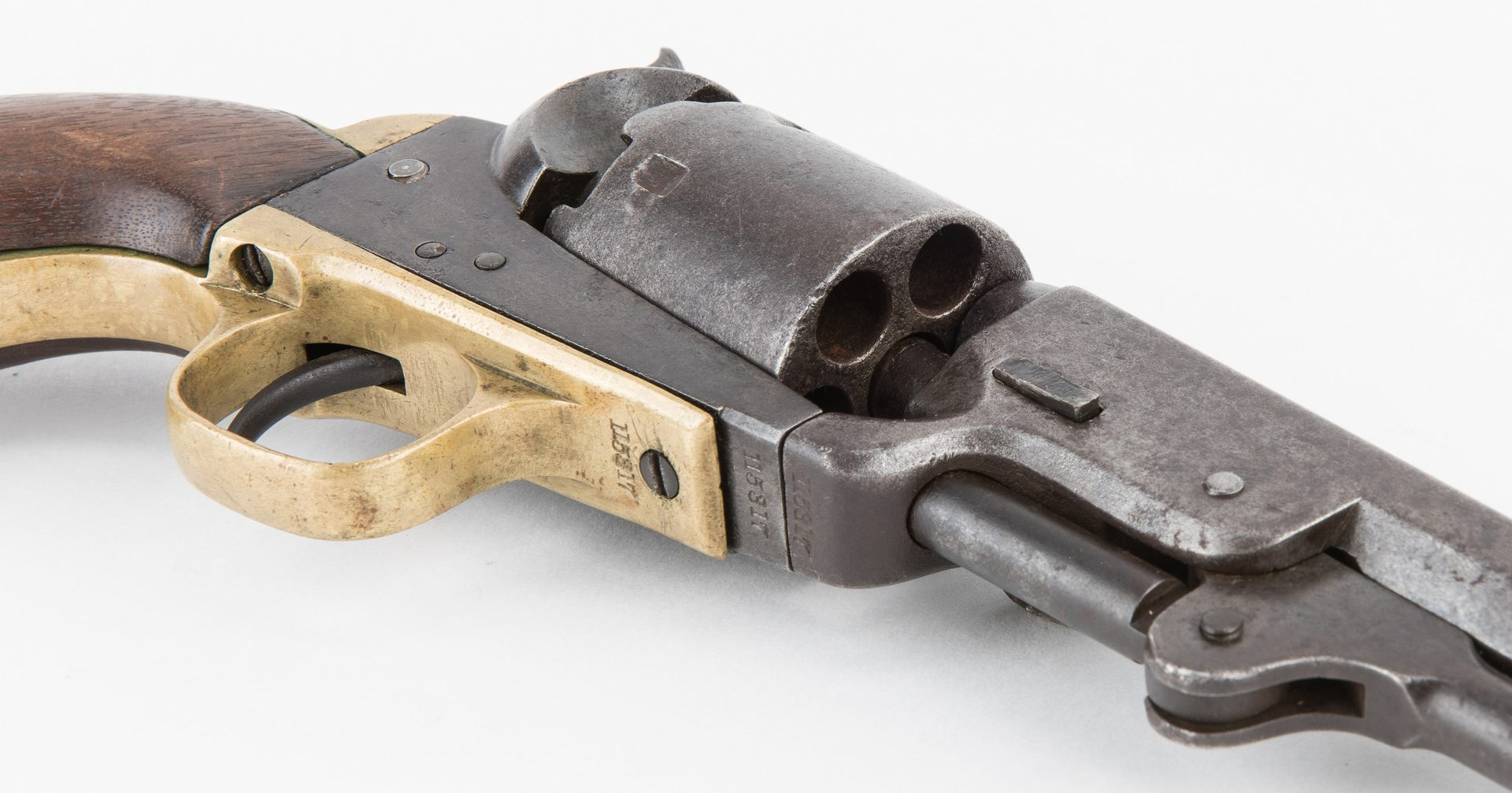Lot 313: Civil War era Colt Model 1851 Navy Revolver, .36 Caliber