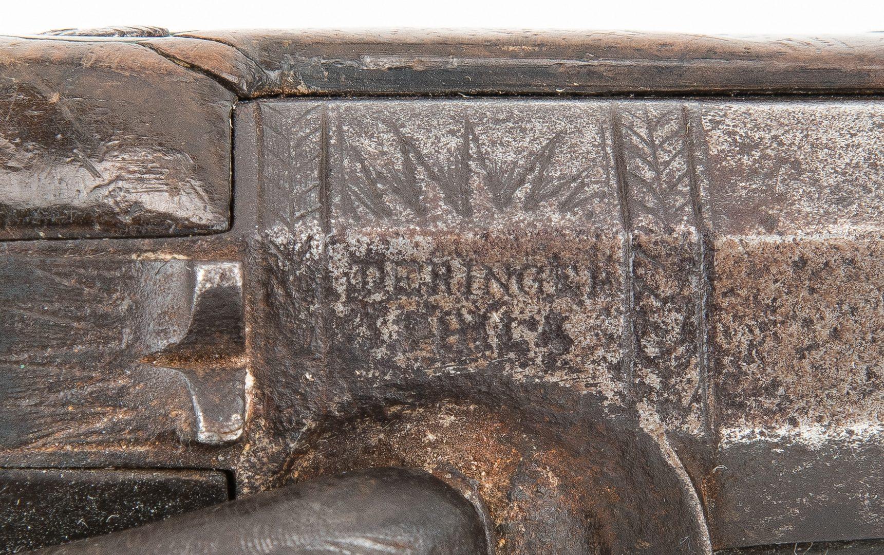 Lot 317: Philadelphia Derringer, .45 cal