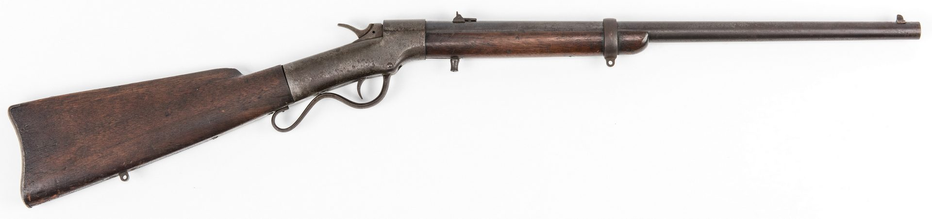 Lot 319: Agent Marked Merwin and Bray Ballard Model 1861 Carbine, .44 cal