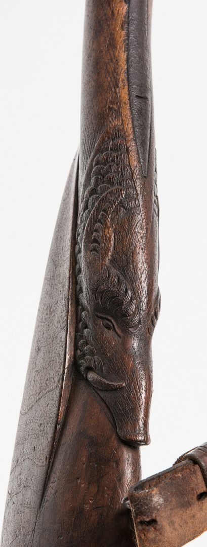 Lot 322: New Orleans Agent Marked C. Redon European Side by Side Percussion Shotgun, 16 gauge