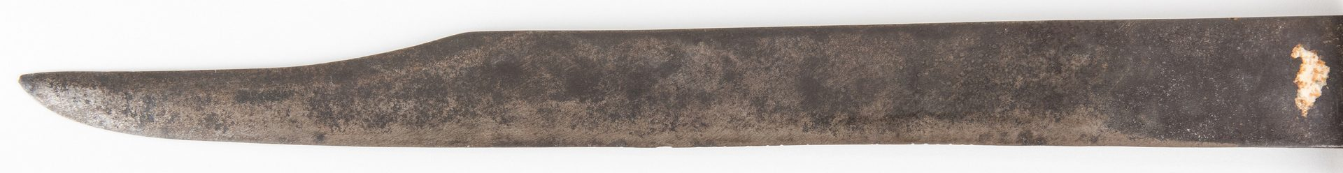 Lot 327: Confederate NC Clip Point Bowie Knife, Calvin Baker, 3rd VA Infantry