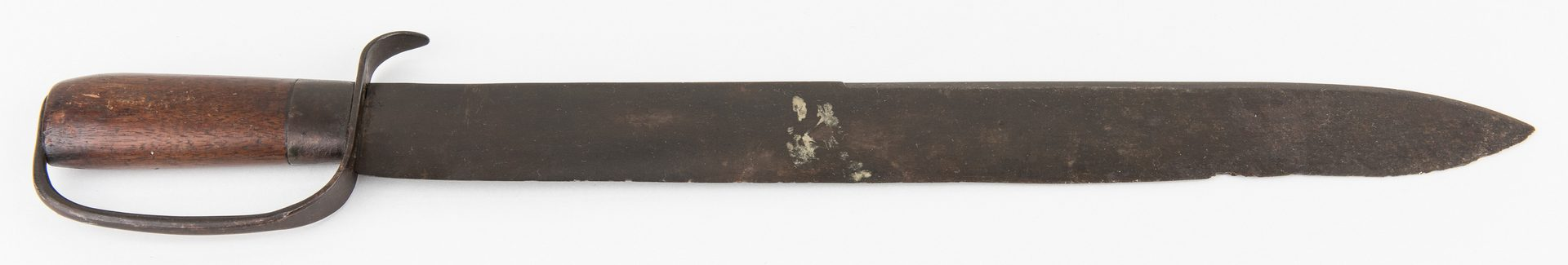 Lot 329: Classic Confederate D Guard Bowie Knife