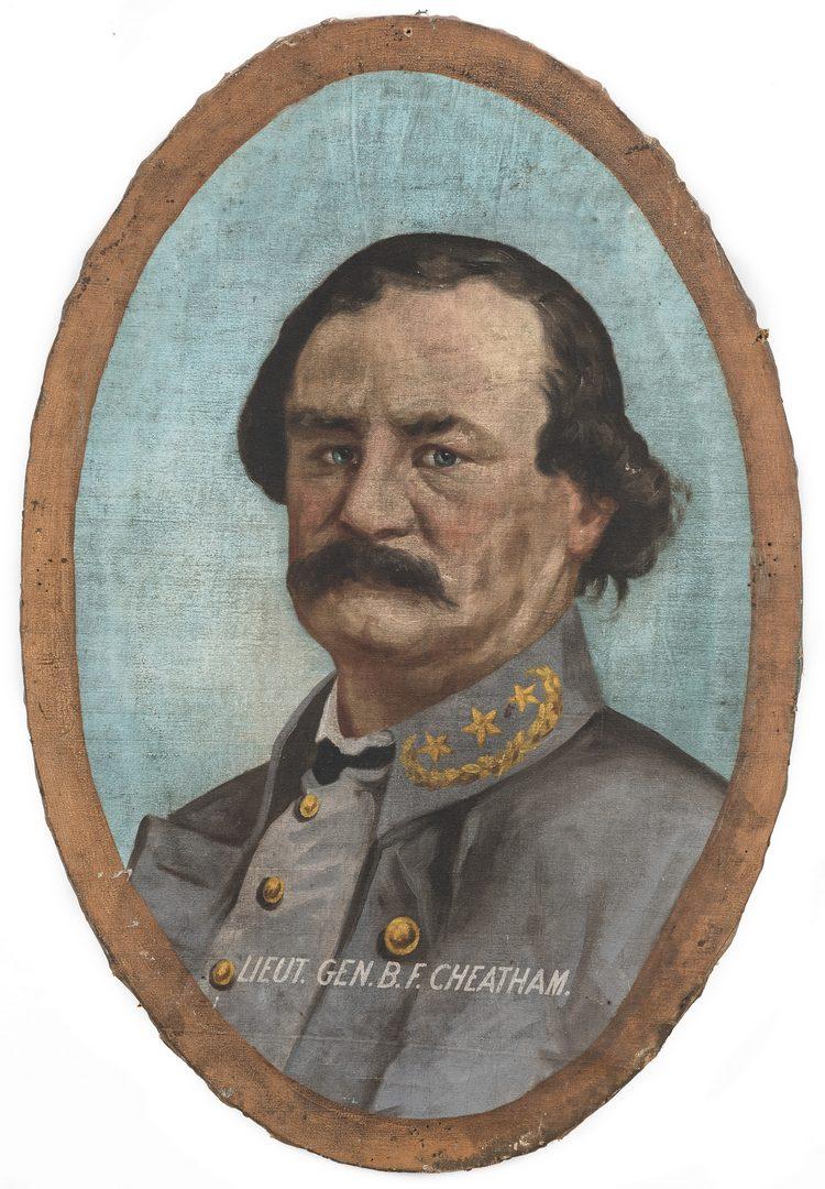 Lot 346: Lawrence Thompson Dickinson O/C, General B. F. Cheatham