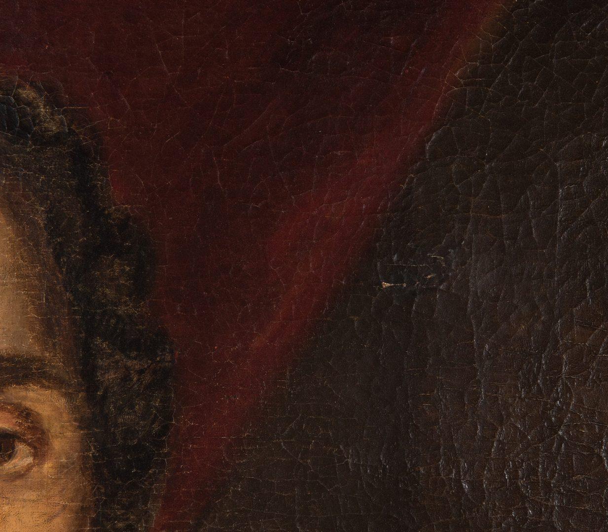 Lot 350: Portrait of a gentleman, poss. Gen. Thomas Gilchrist Polk
