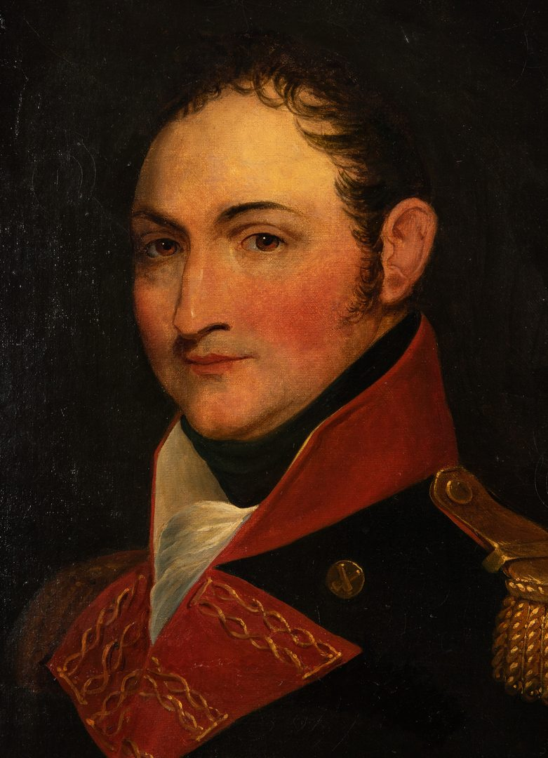 Lot 352: Portrait of Colonel John Henry