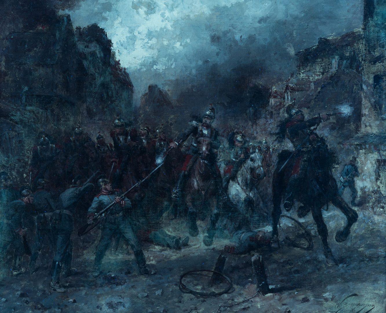 Lot 354: W.C. Beauquesne O/C, Street Battle