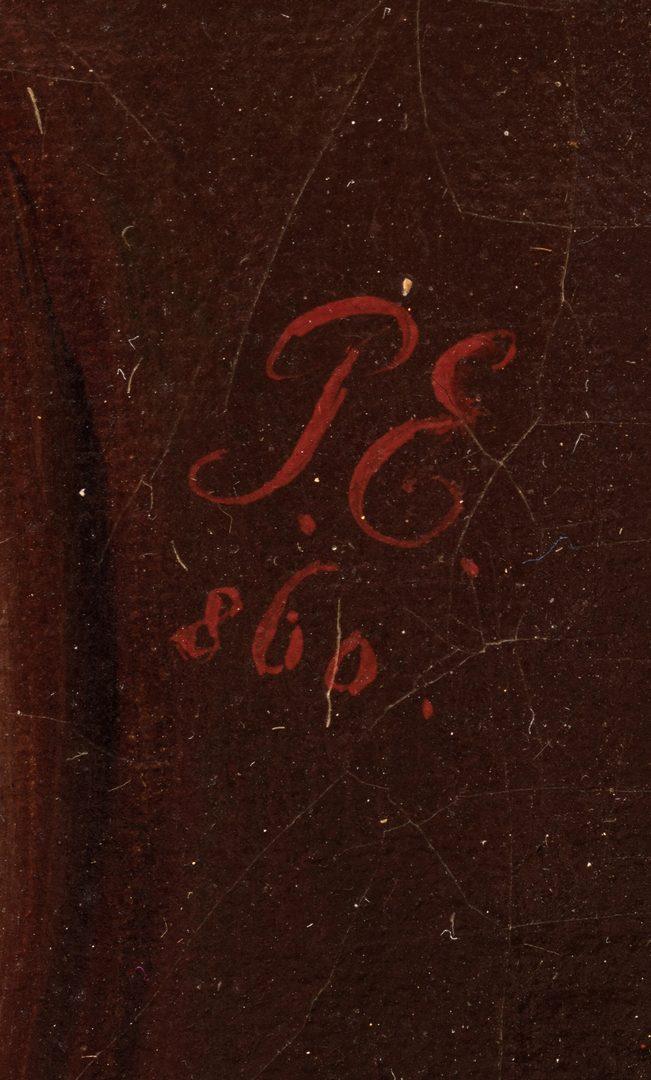 Lot 359: 19th C. German Portrait of a Composer