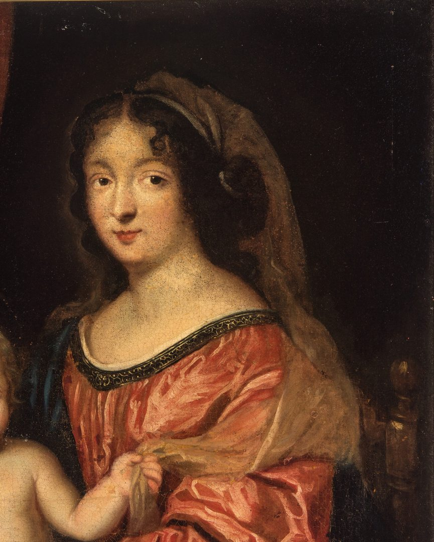 Lot 360: Manner of Sir Peter Lely, Portrait of Woman and Child