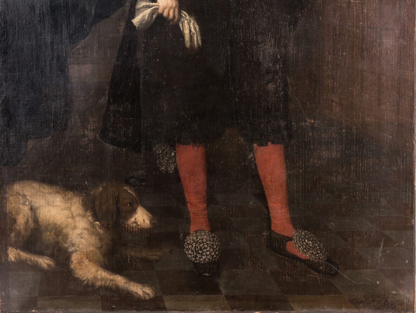 Lot 361: Circle of Daniel Mytens, portrait of an Earl, full length