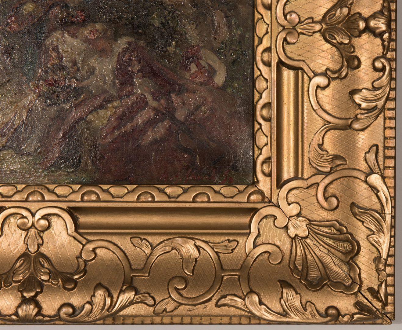 Lot 368: Wm. Somerville Shanks O/C Impressionistic Landscape