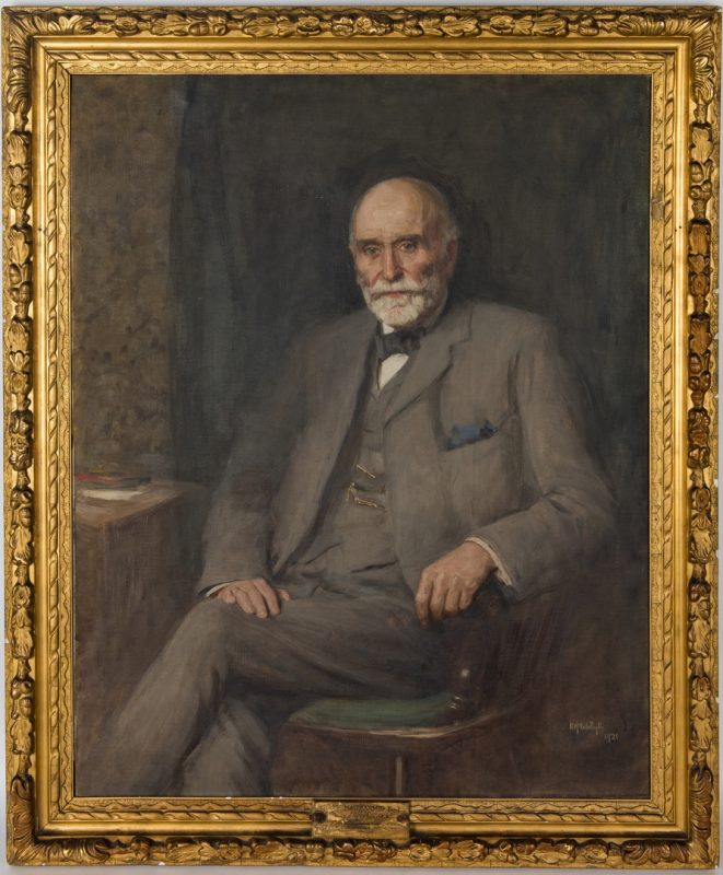Lot 372: Duncan McGregor Whyte, portrait of Hugh MacDiarmid