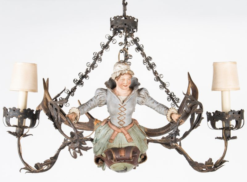 "Lot 394: Lusterweibchen ""Mermaid""  Chandelier"