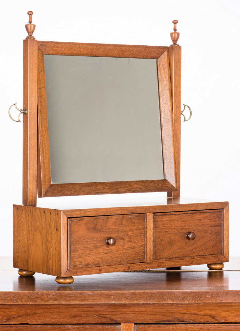 Lot 395: East TN Chest and Dressing Mirror, Wexler provenance