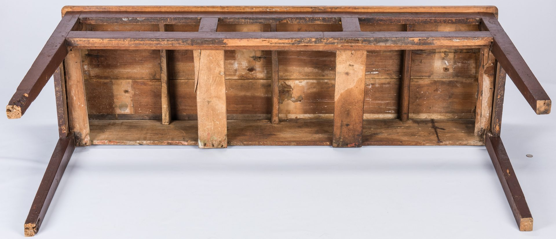 Lot 401: Southern Painted Pine Server or Huntboard