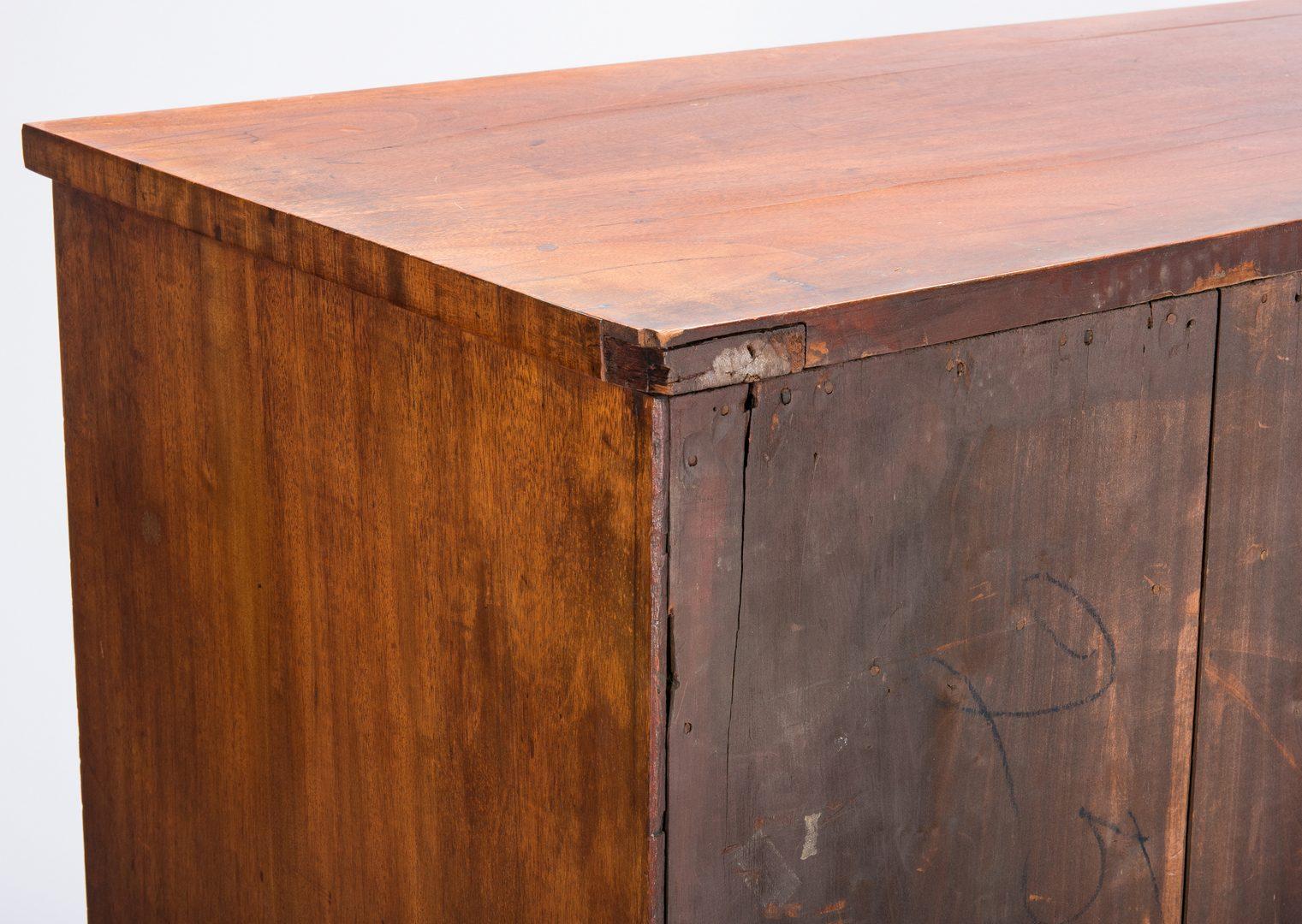 Lot 404: NY Federal Butler's Desk, Attr. M. Allison