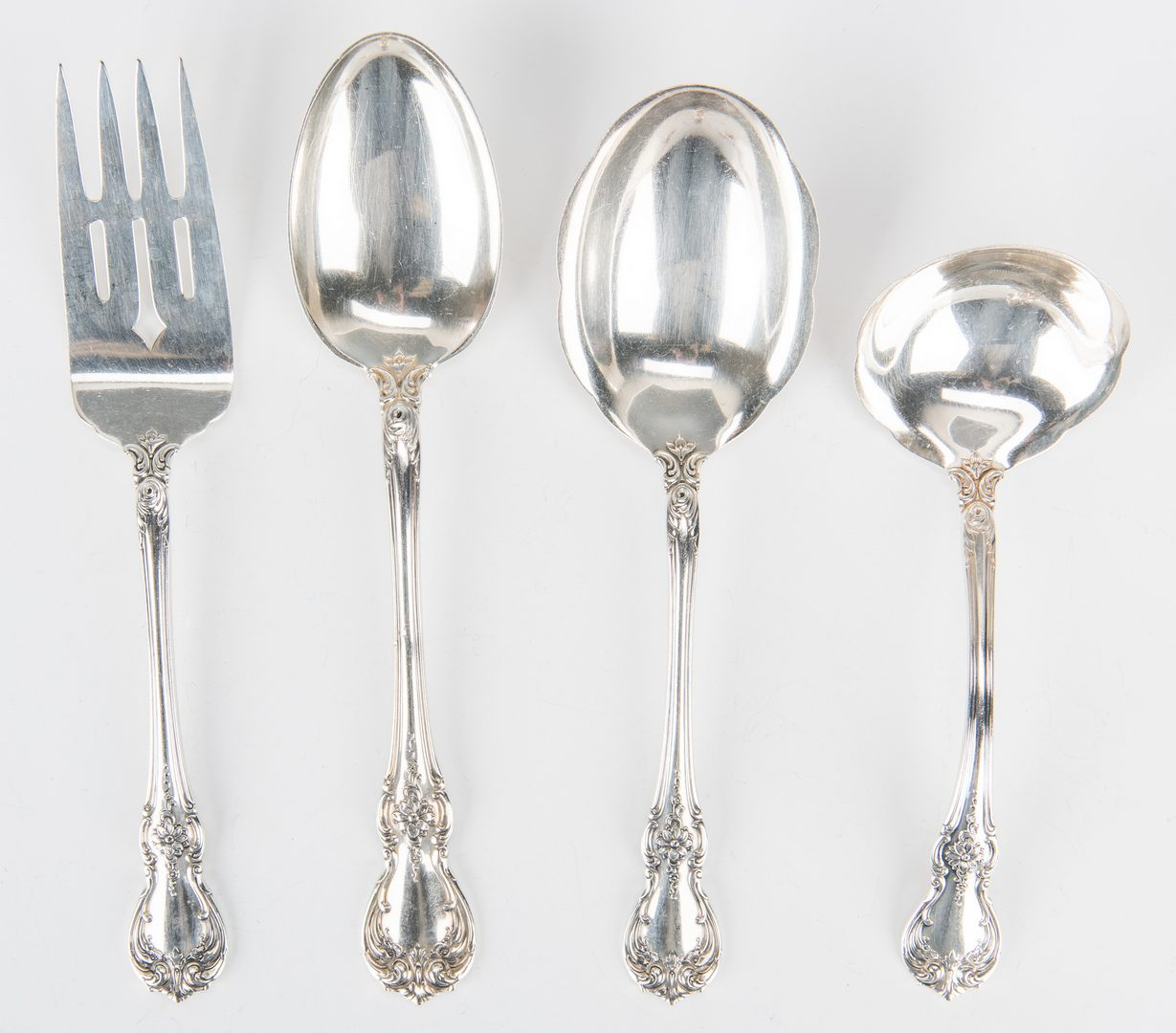 Lot 452: Old Master Sterling Flatware, 64 pieces