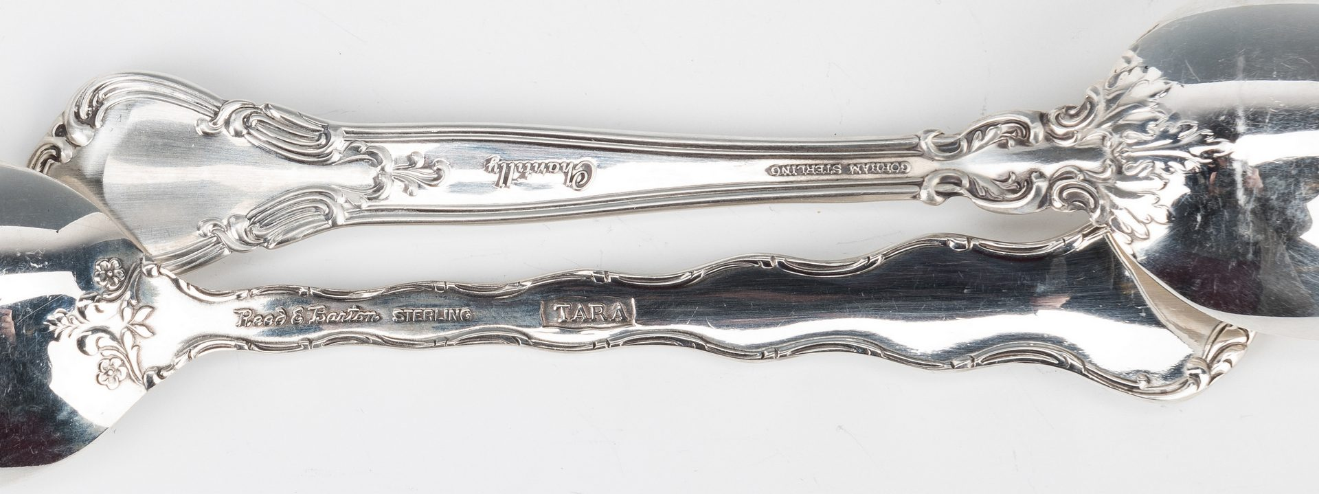 Lot 457: Assorted Sterling Table Items; Flatware