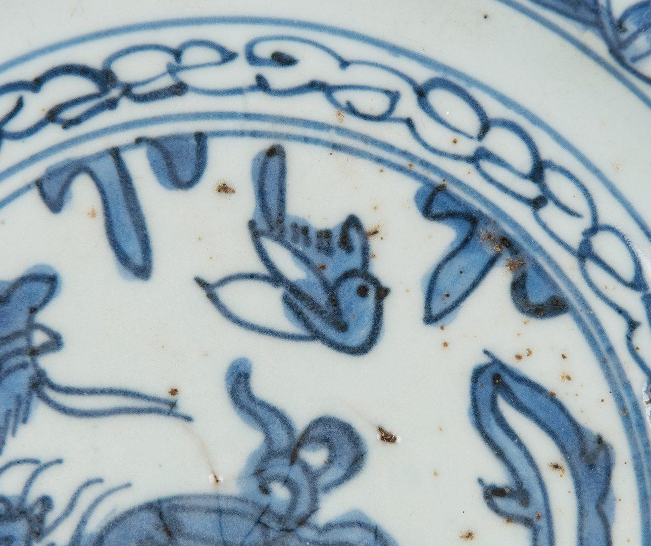 Lot 474: 4 Pcs. Chinese Blue & White Export  Porcelain
