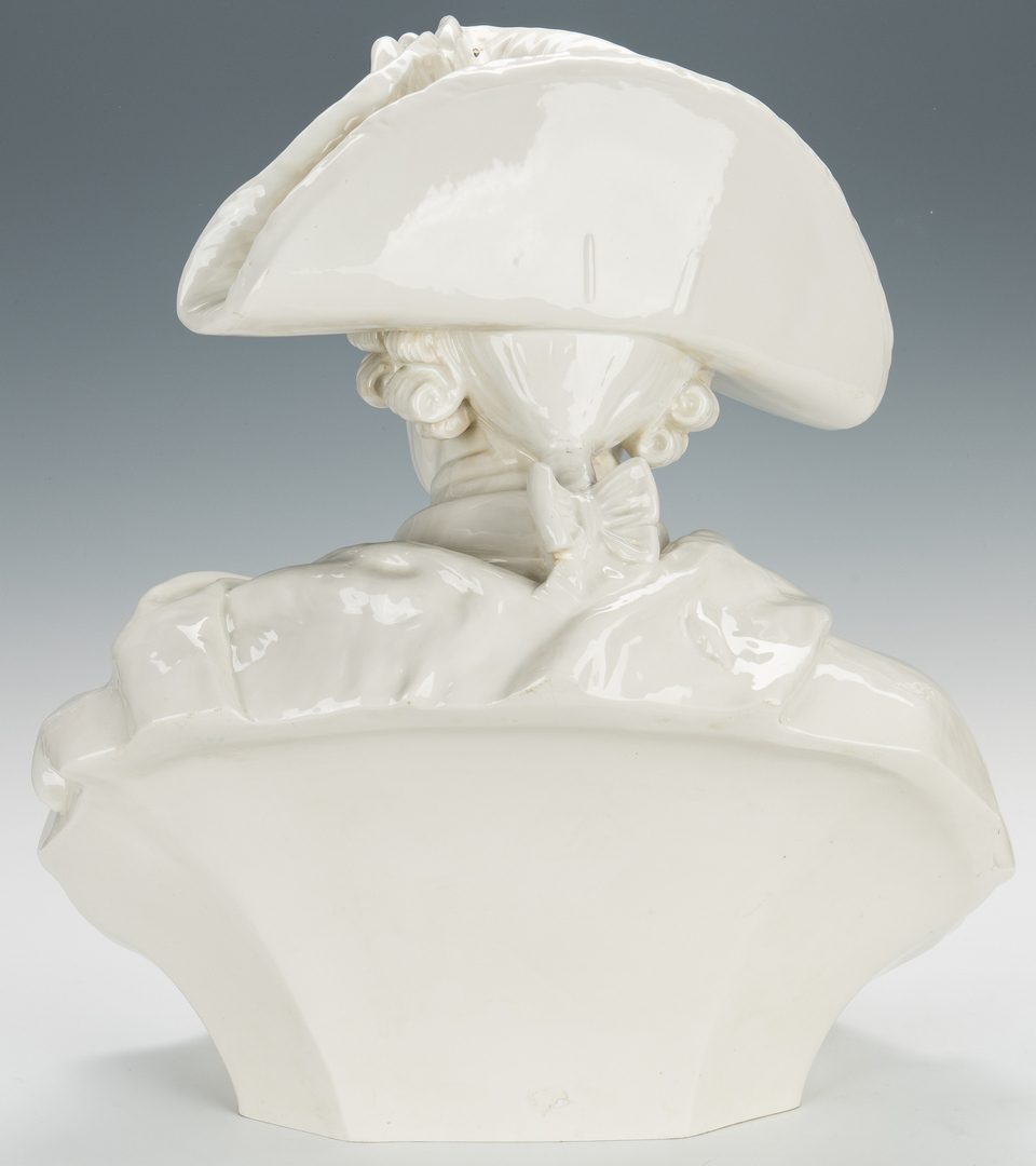 Lot 504: Porcelain Bust of Frederick the Great, attr. KPM