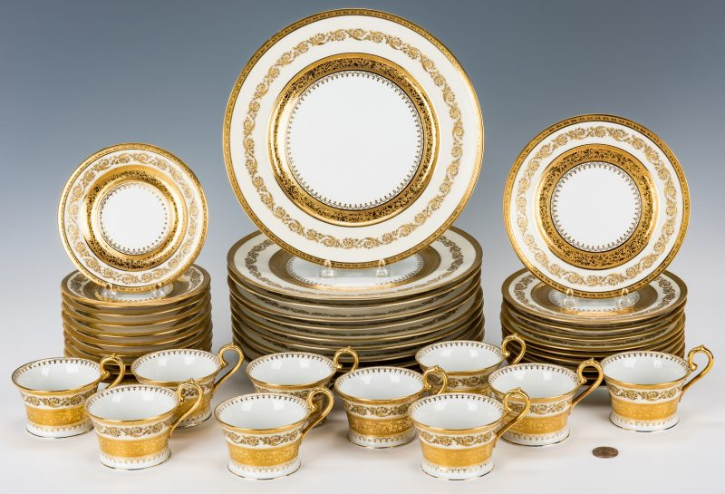 Lot 506: Ceralene Imperiale Dinnerware, 30 Pcs.
