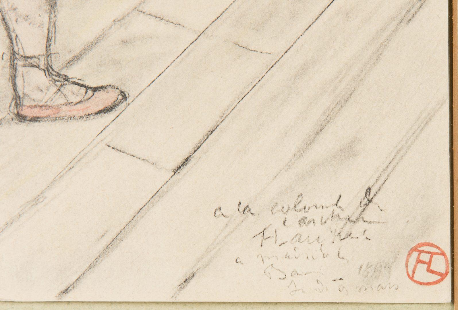 Lot 530: Toulouse Lautrec Lithograph, Au Cirque