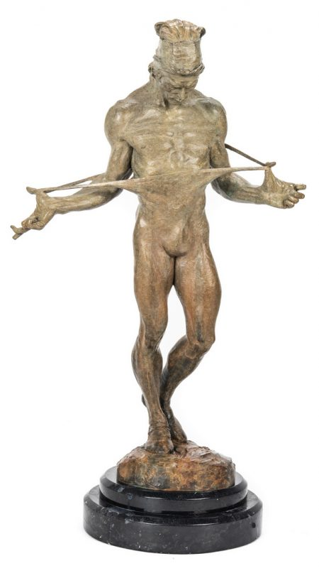 Lot 534: Richard MacDonald Bronze Sculpture, Nureyev