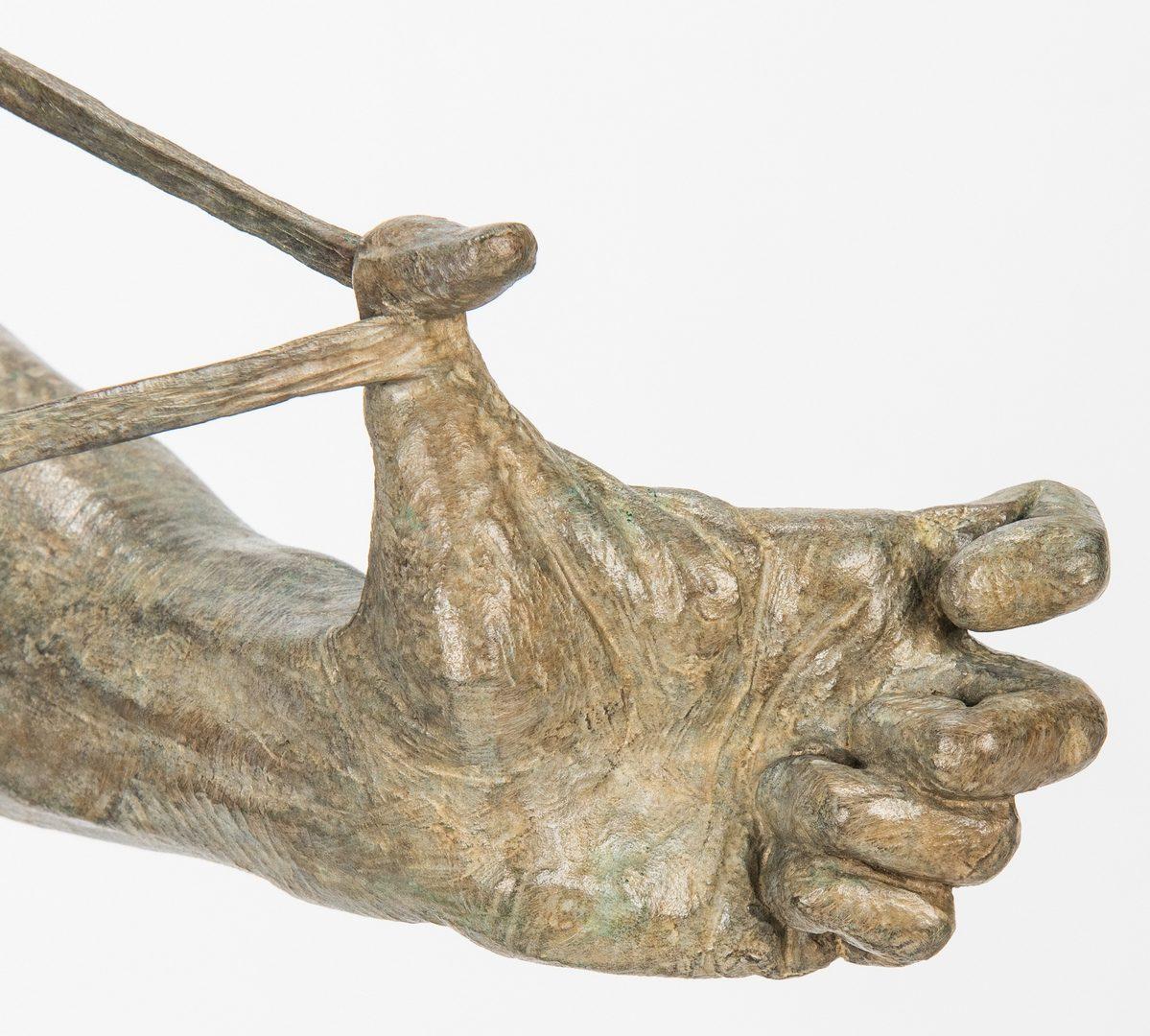 Lot 534: Richard MacDonald Bronze Sculpture, Nureyev