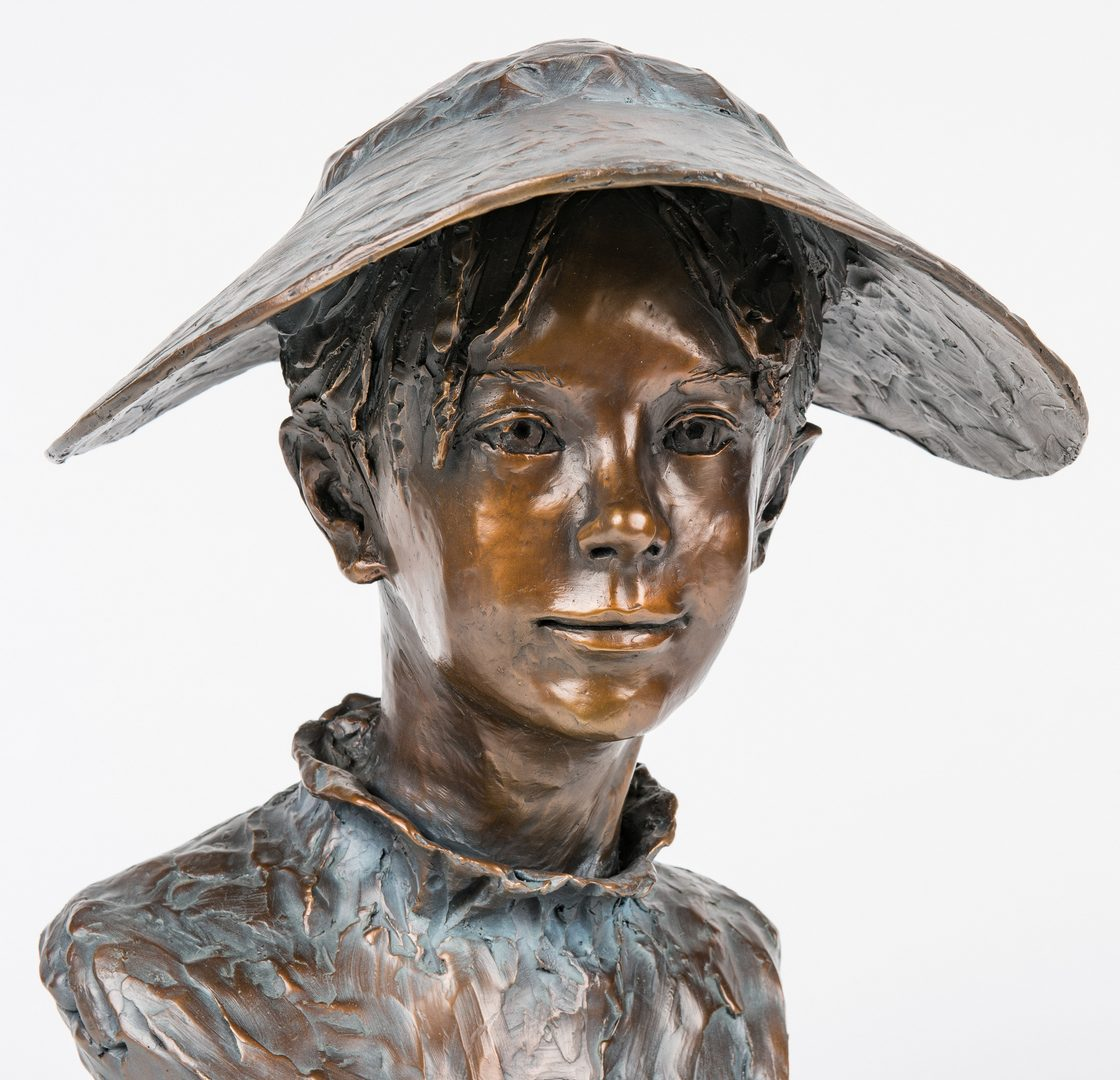 Lot 537: Glenna Goodacre Bronze, Flower Girl