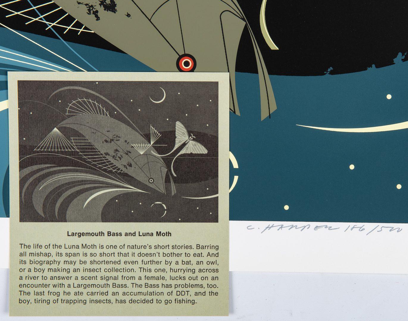 Lot 546: Portfolio of 4 Charley Harper Wildlife Serigraphs
