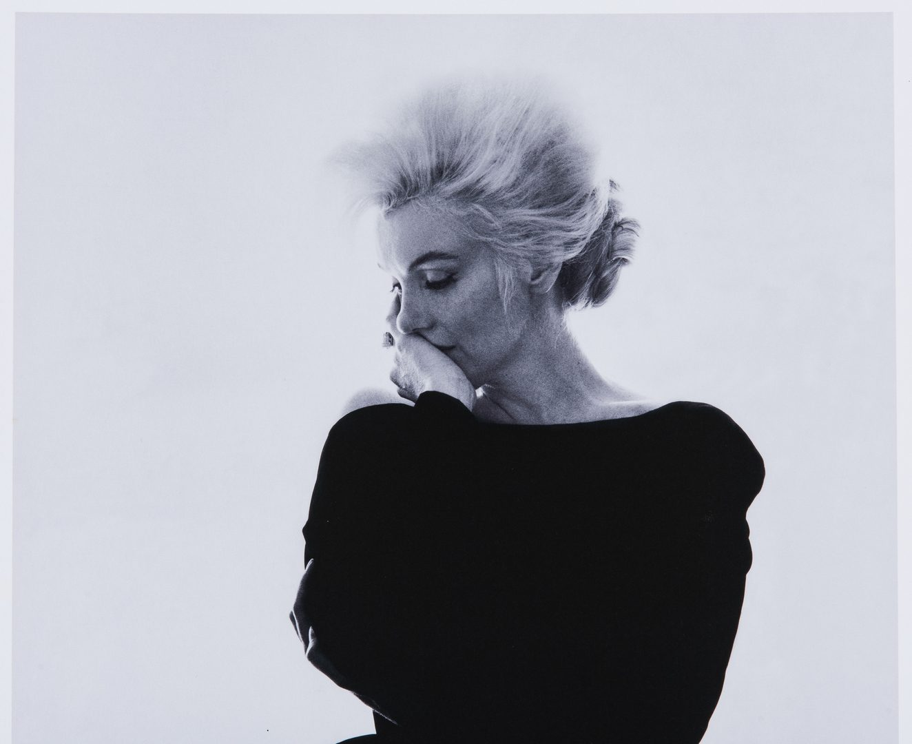 Lot 552: Bert Stern Photograph, Marilyn in Vogue, Last Sitting