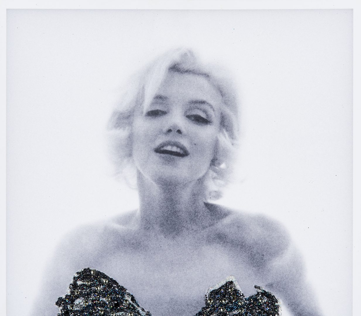 Lot 553: Bert Stern Photograph, Marilyn Monroe Jewelled Roses, Last Sitting