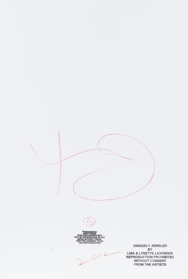 Lot 553: Bert Stern Photograph, Marilyn Monroe Jewelled Roses, Last Sitting