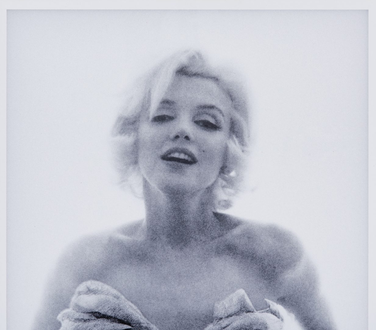 Lot 555: Bert Stern Photograph, Marilyn with Roses, Last Sitting