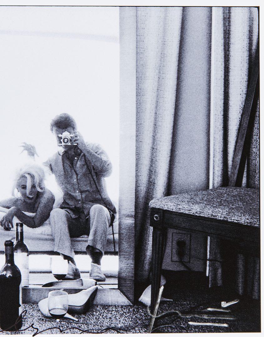 Lot 556: Bert Stern & Marilyn Monroe Self Portrait Photograph, Last Sitting