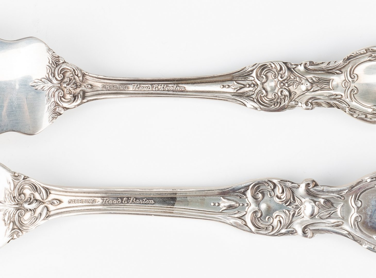 Lot 55: Reed Barton Francis I Sterling Flatware, 74 pc