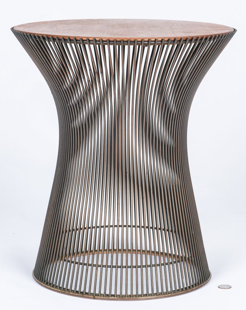 Lot 564: Warren Platner Knoll Stool, labeled