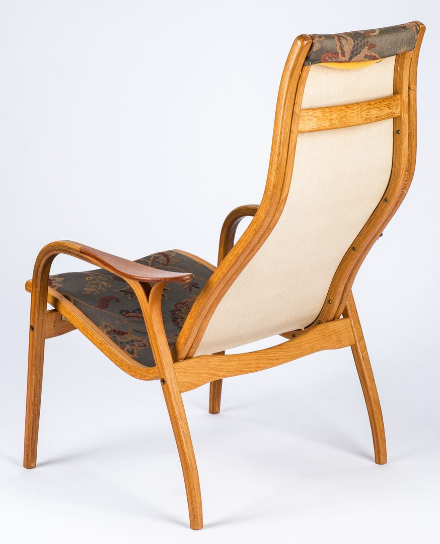 Lot 565: Yngve Ekstrom Lamino Lounge Chair