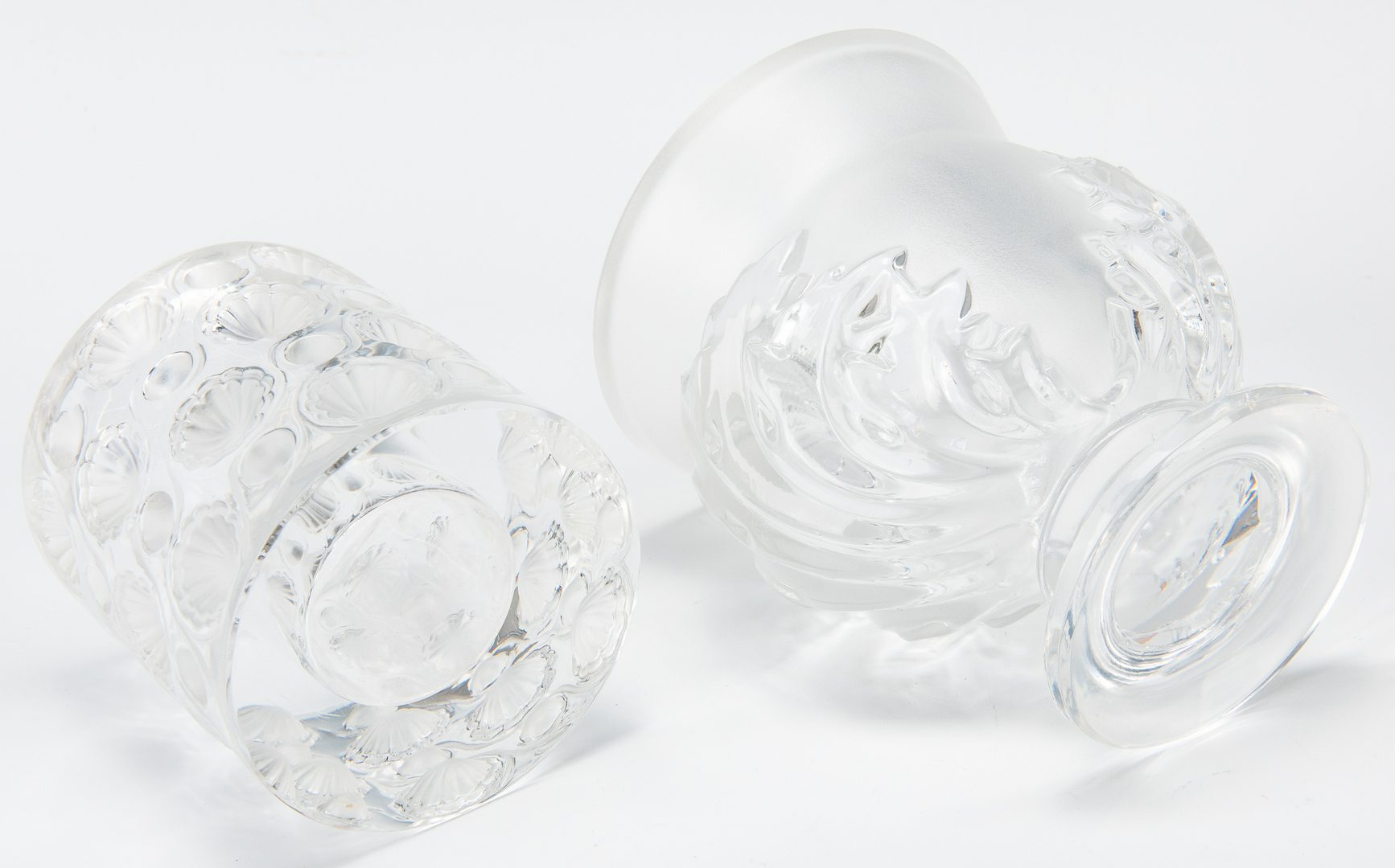 Lot 575: 9 Assorted Lalique Novelty Crystal Items