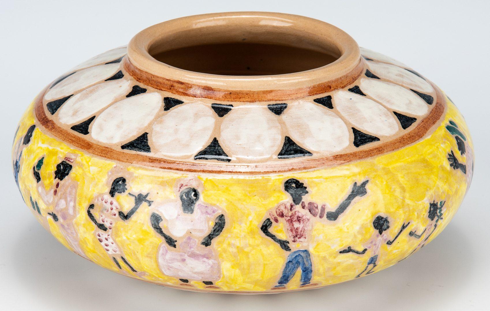 Lot 578: Shearwater Art Pottery Jar, Mac Anderson