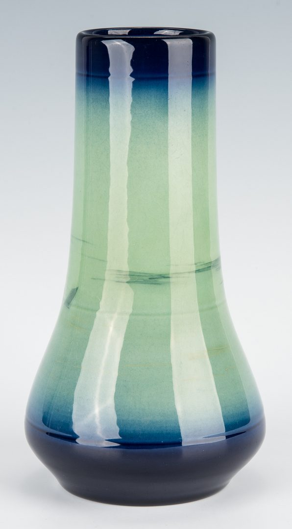 Lot 579: Rookwood Scenic Art Pottery Vase, Sallie Coyne