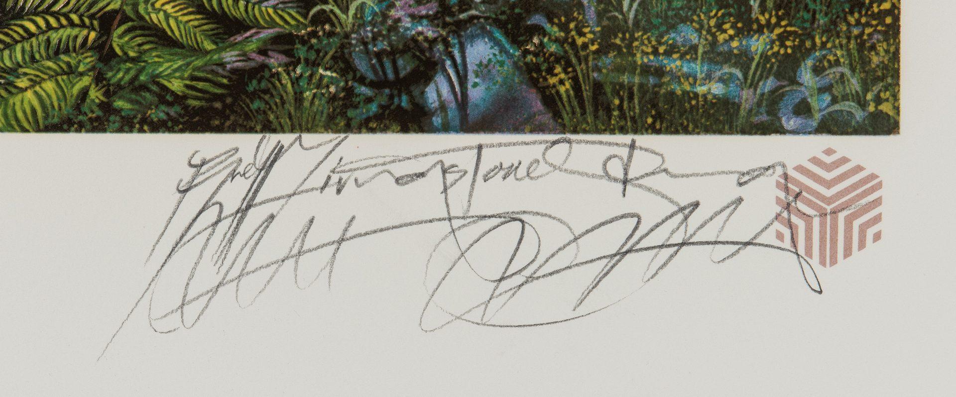 Lot 581: 7 Brett Livingstone Strong Serigraphs