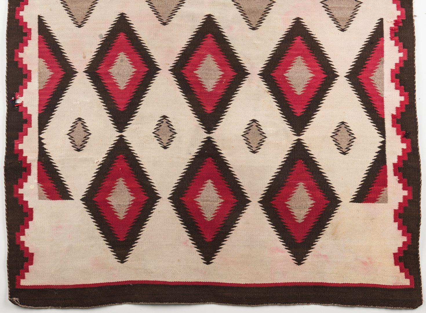 Lot 590: 2 Navajo Eyedazzler Rugs